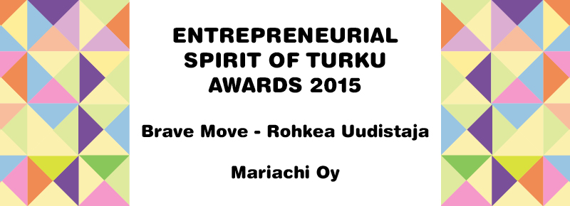 ENTREPRENEURIAL SPIRIT OF TURKU AWARD